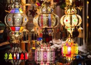 صالونات مغربية مزينة بفوانيس رمضان- 9