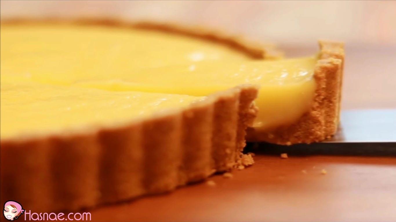 طريقة تحضير تارت الليمون من غير فرن