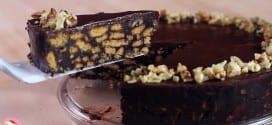 كيك الشوكولاتة من غير فرن