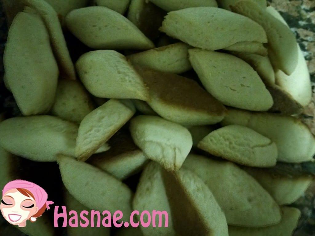 طريقة تحضير حلوى الشوكولاتة المغربية أو ميريندينة - الخطوة 8