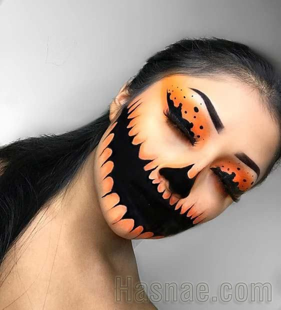 Maquillage Halloween - Hasnae.com 2