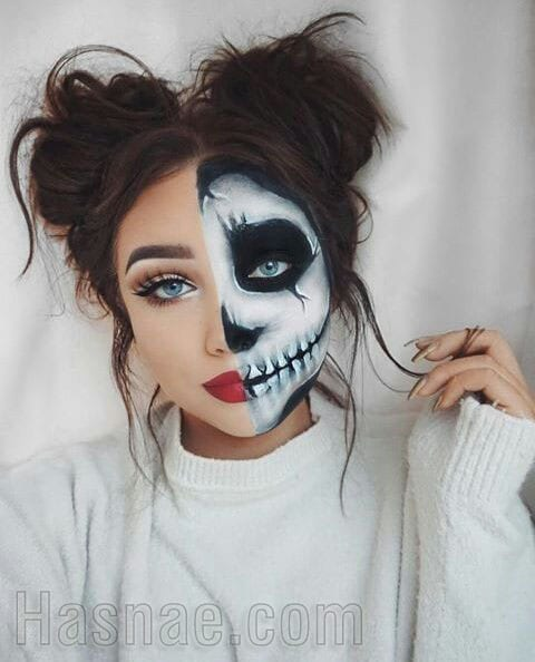 Maquillage Halloween - Hasnae.com 3