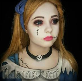 Maquillage Halloween - Hasnae.com 5