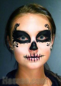 Maquillage Halloween - Hasnae.com 7