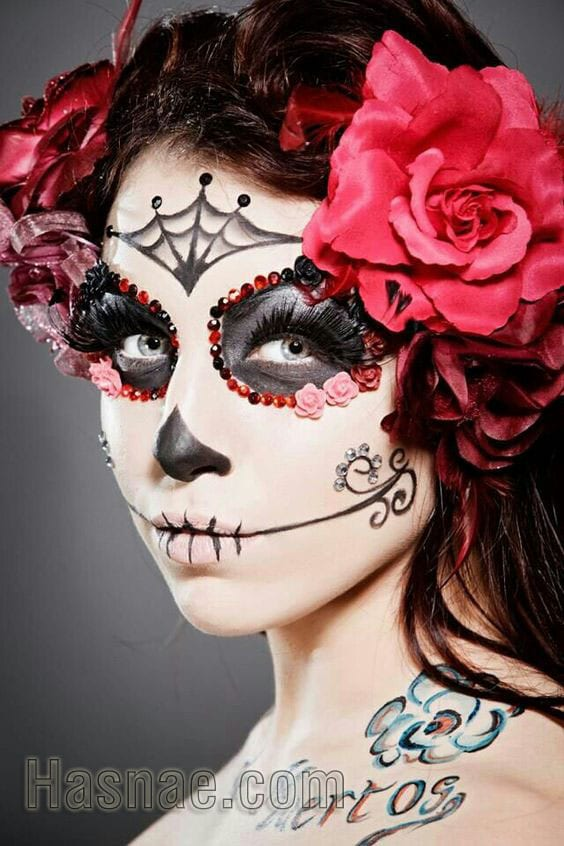 Maquillage Halloween - Hasnae.com 8