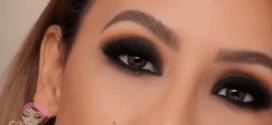 مكياج عيون سموكي بالفيديو