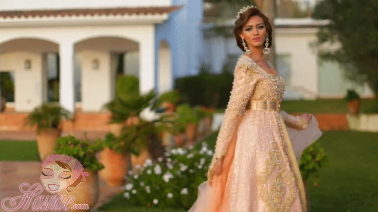 فيديو أحلى قفطان مغربي حصري لأحلى عروس
