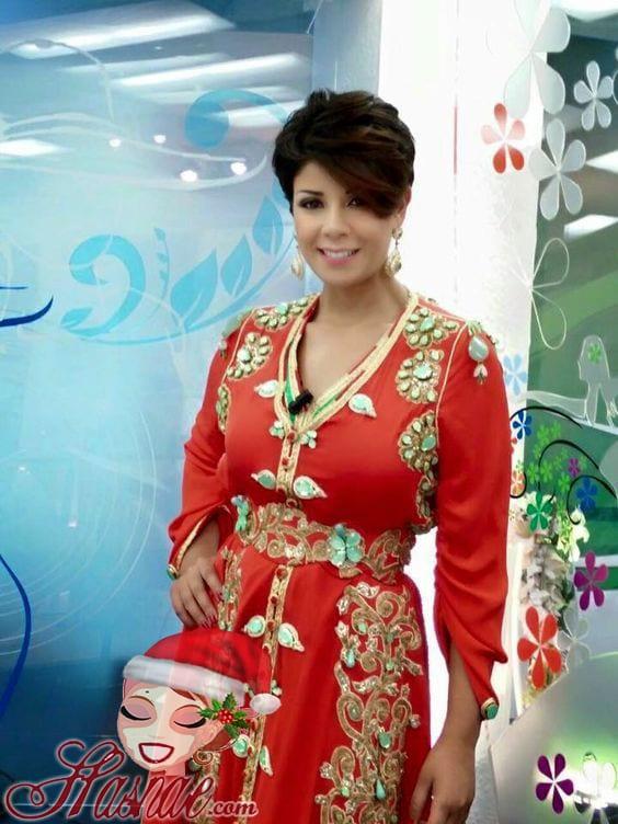 قفاطين مغربية مثيرة باللون الأحمر لعيد الحب 2018 - 4