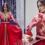 قفاطين مغربية مثيرة باللون الأحمر لعيد الحب 2018 - 6