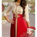 قفاطين مغربية مثيرة باللون الأحمر لعيد الحب 2018 - 7