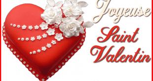 Gâteau Saint Valentin Pâte à sucre pas à pas en Vidéo