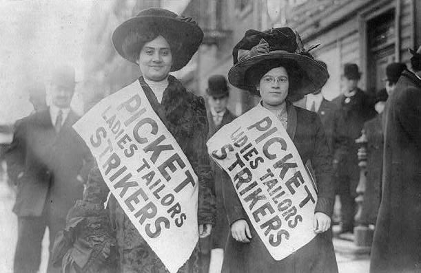 اليوم العالمي للمرأة - اليوم الوطني للمرأة 1909