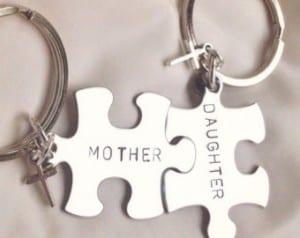 أفكار هدايا عيد الأم - حمالات مفاتيح