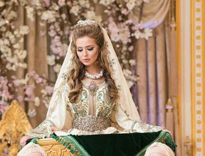 أحلى قفطان مغربي لأحلى عروس